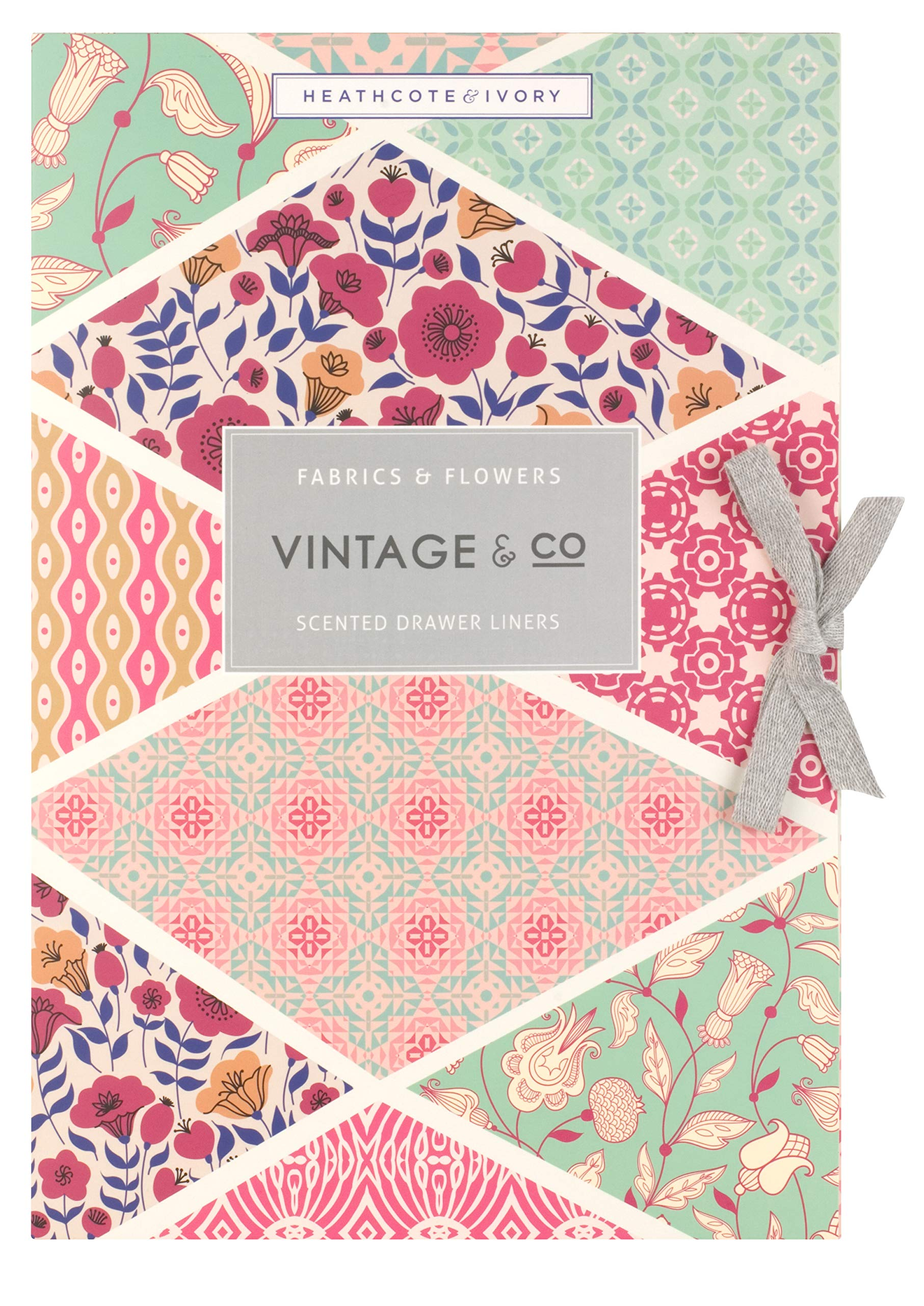 Vintage & Co Fabric & Flowers Scented Drawer liners (Pack of 6) ... by Heathcote & Ivory (Image #3)