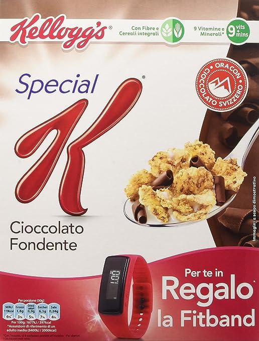 12 opinioni per Kellogg's- Special K, Cereali Cioccolato Fondente , 300 g