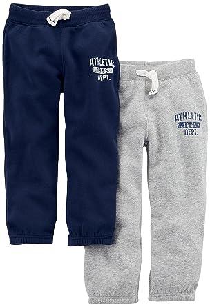 27d0684abb Carter's Baby Boys' 2-Pack Fleece Pant