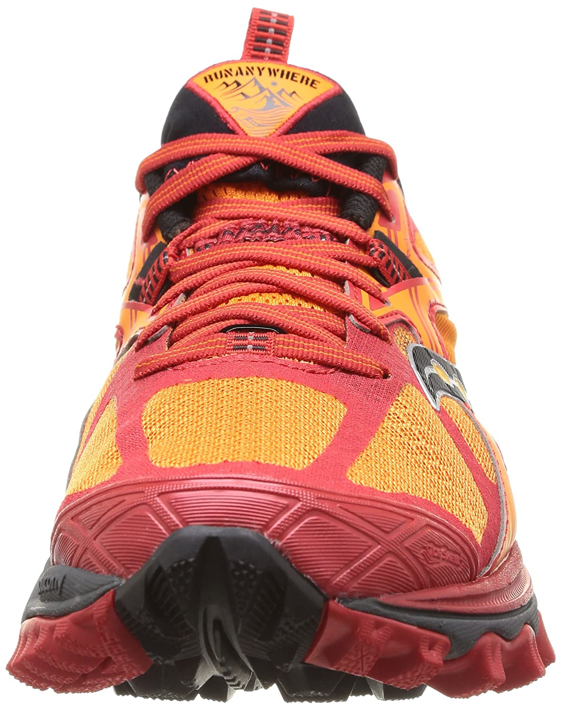 Saucony Xodus 5.0 Scarpe da Trail Running, ArancioneRosso