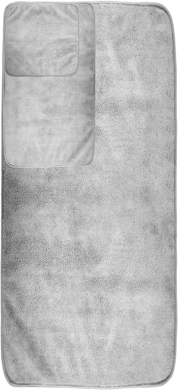 Secado r/ápido Pack de 6 Polyte Beige Juego de Toallas de ba/ño de Microfibra Felpa y antipelusa