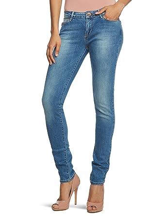 damen jeans hoher bund