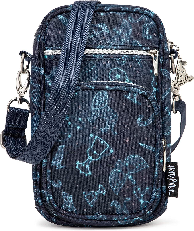 JuJuBe   Mini Helix Small Crossbody Messenger Bag with Pockets   Adults, Teens, or Kids   Harry Potter   Lumos Maxima