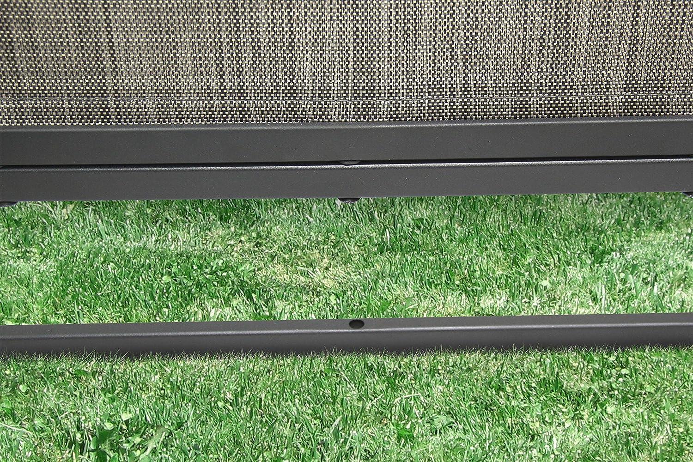 Liberty Garden Patio PS-01E-S Privacy Screen Black