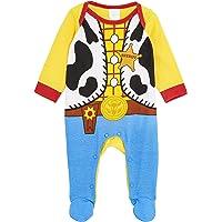 Disney Toy Story Disfraz Bebe, 100% Algodon Ropa de Bebe Niño, Pijama Disfraz Woody Toy Story, Bodies Bebe Manga Larga…