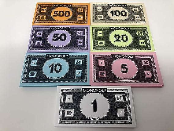 Hasbro Monopoly - Dinero de Color (Color Morado): Amazon.es: Juguetes y juegos