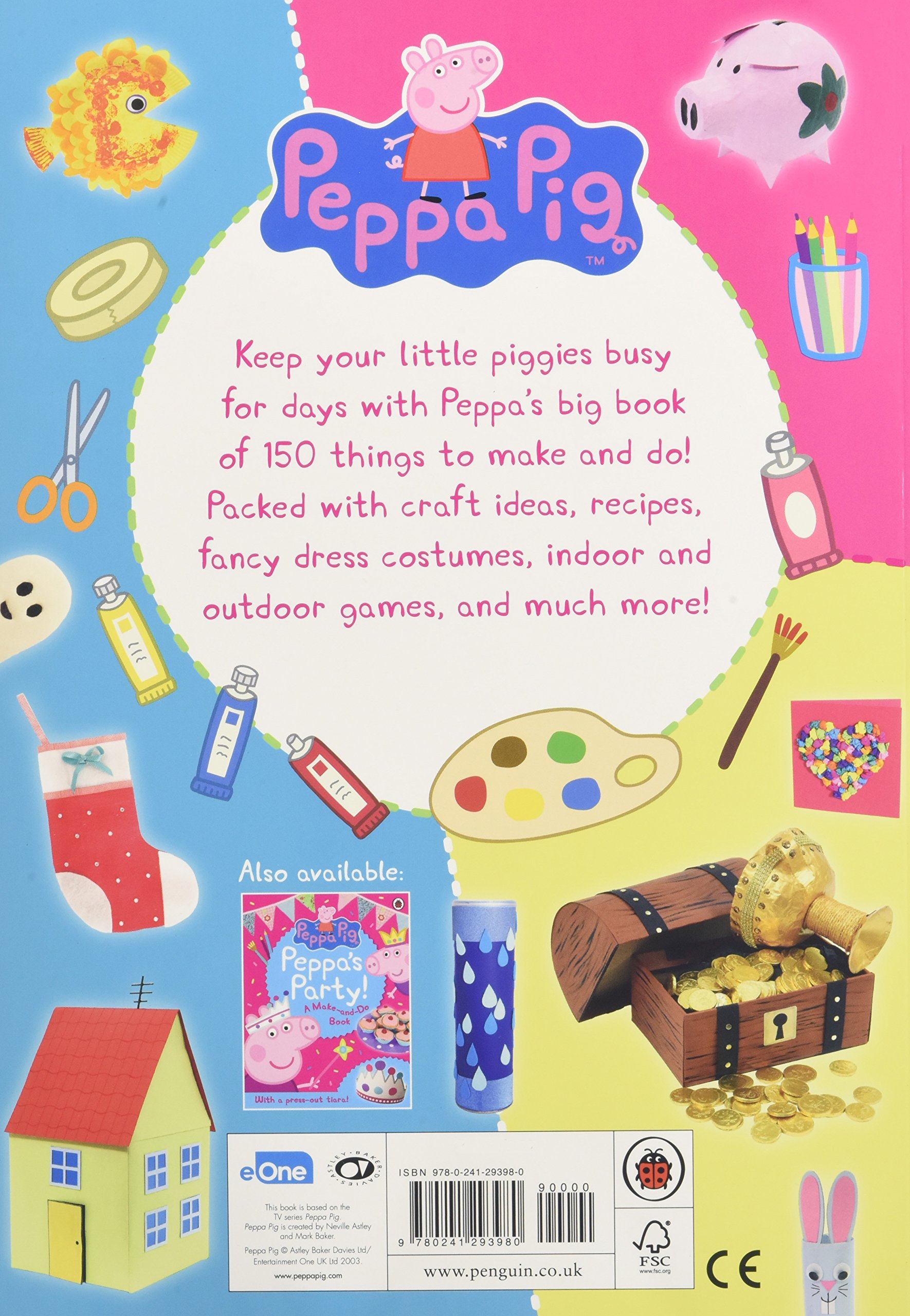 peppa pig 150 things to make and do with peppa amazon co uk