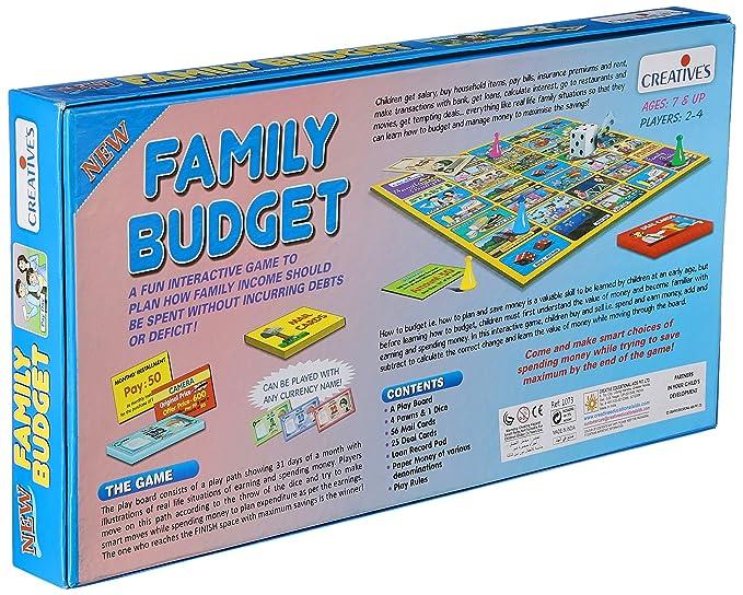 how to make a family budget