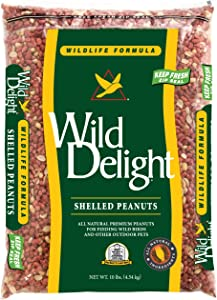 Wild Delight Shelled Peanuts, 10 lb