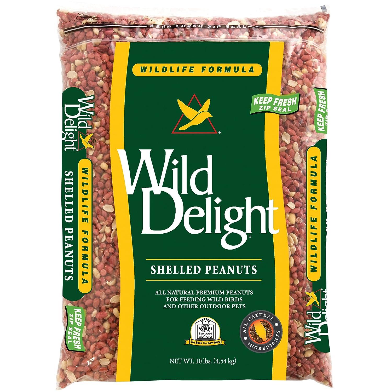 Wild Delight Shelled Peanuts 10 lb