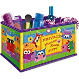 Ravensburger My 3D Boutique - Funky Owls Vanity Box, 216pc 3D Jigsaw Puzzle