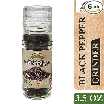 Del Himalaya Pimienta Negra: Amazon.com: Grocery & Gourmet Food