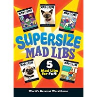 Supersize Mad Libs: World's Greatest Word Game