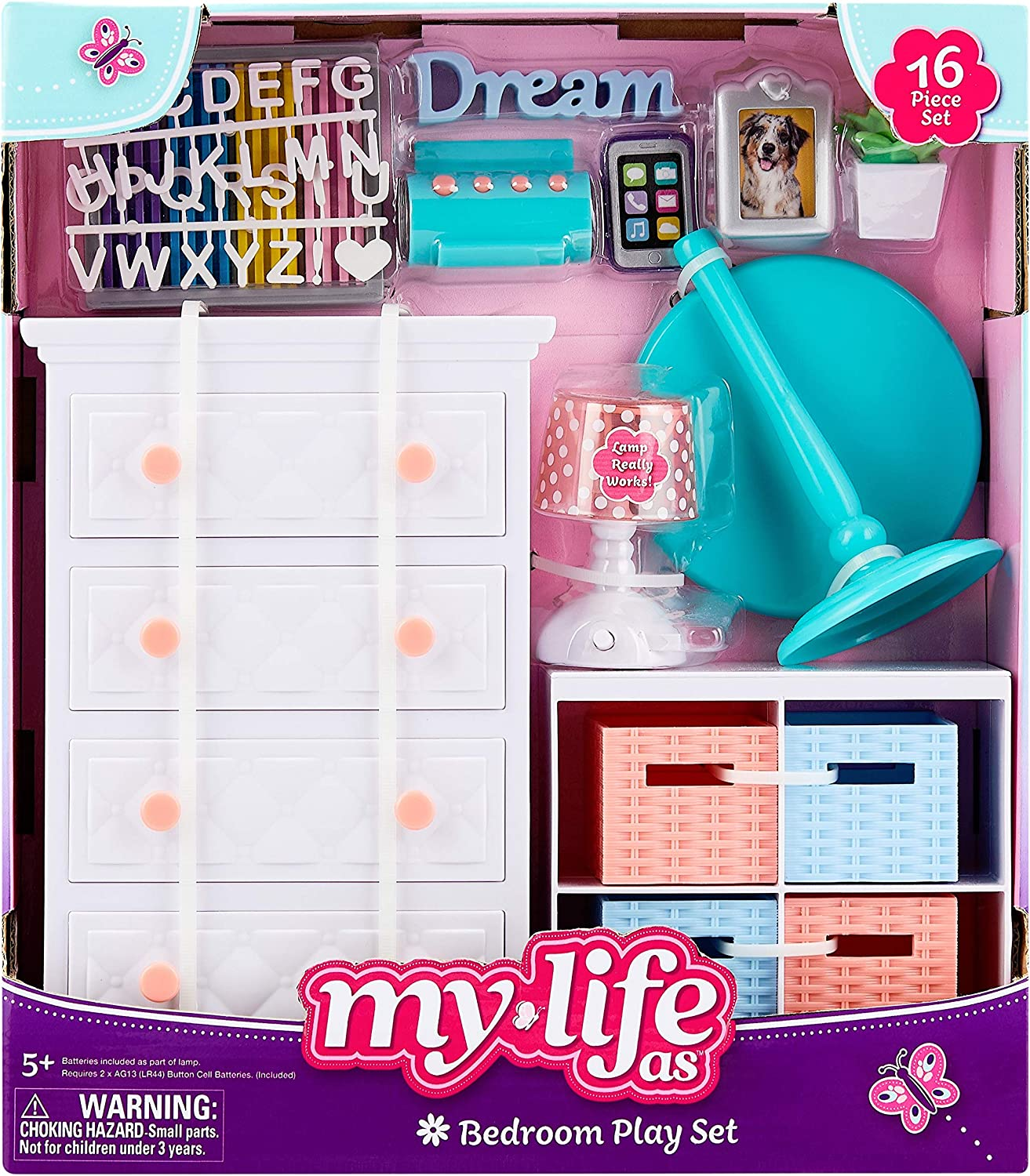 My Life As Bedroom Play Set for 18