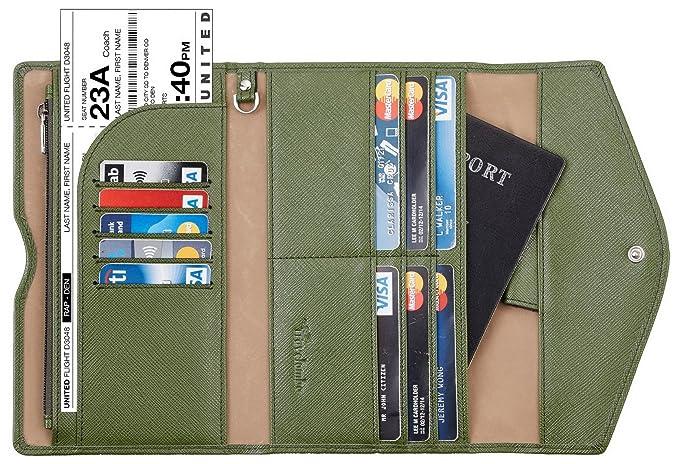 Image result for passport travel wallet