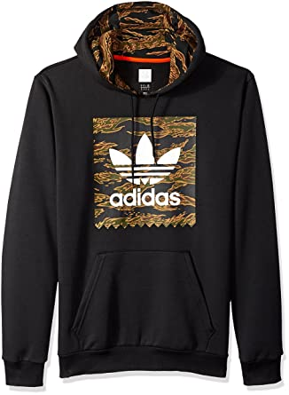 adidas Originals Men s Skateboarding Camo Blackbird Hoodie at Amazon Men s  Clothing store  4eaec74fc938