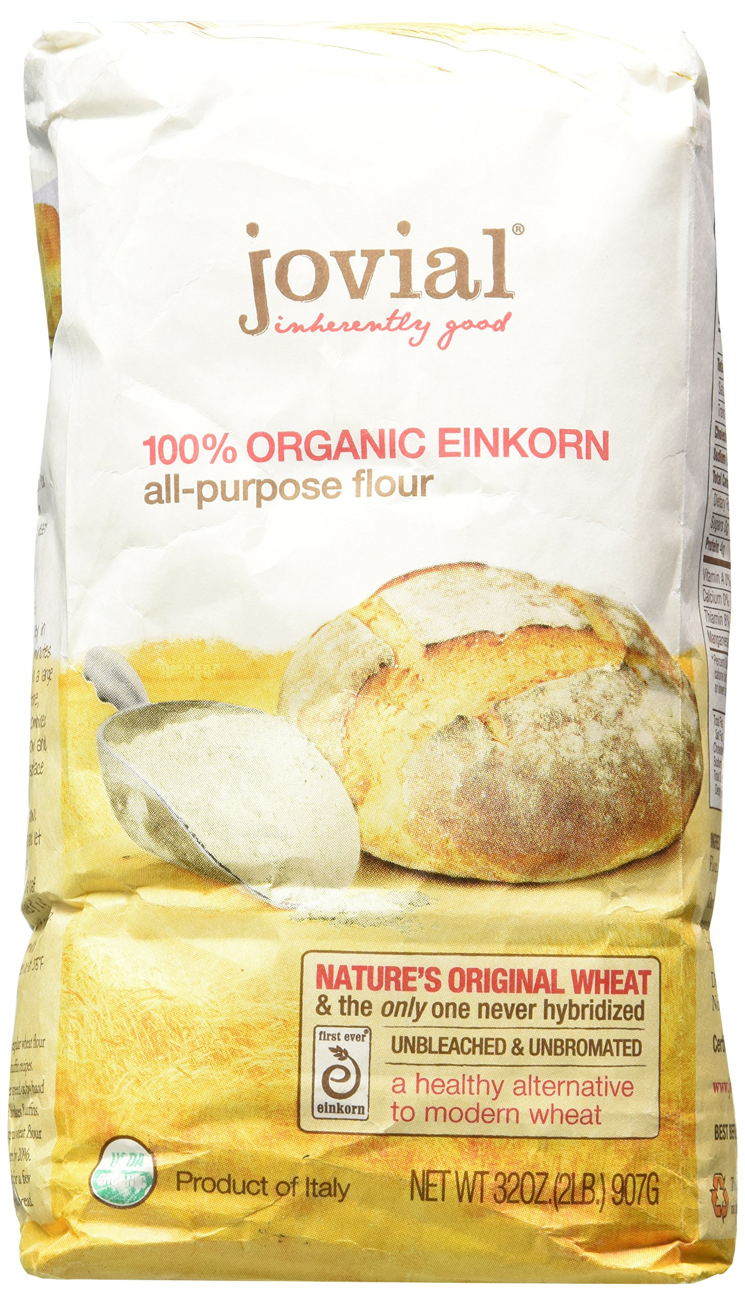 Jovial Foods Organic Einkorn Flour, 32.0-Ounce