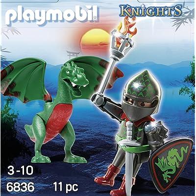 Playmobil Huevos- Dragon Warrior Figura con Accesorios, (6836): Juguetes y juegos