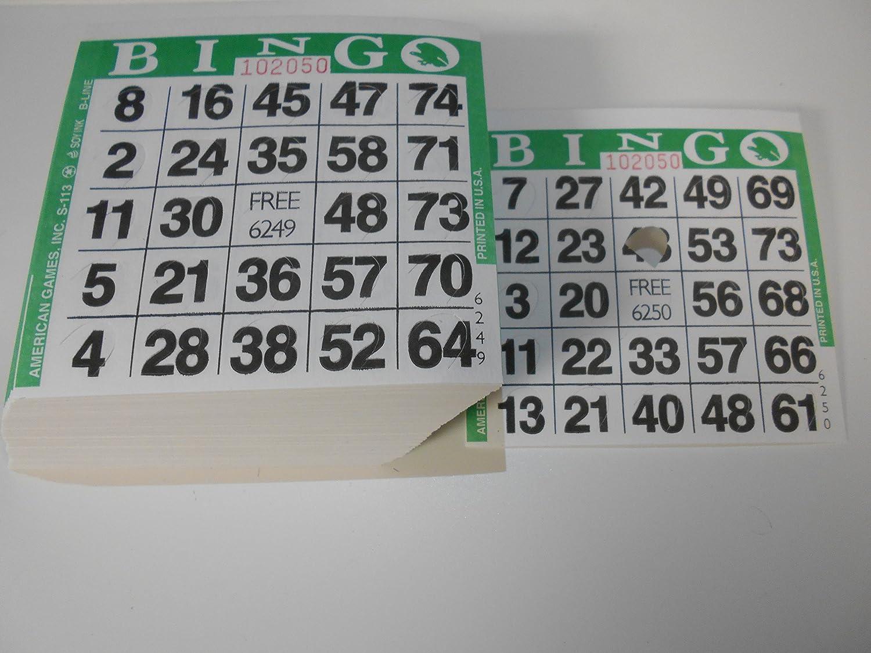 【大放出セール】 Pushout Bingoカード( グリーン Bingoカード( 500 ct--色選択下 B0031QCARQ グリーン グリーン グリーン, ヤブヅカホンマチ:14e567f4 --- fbrasil.com
