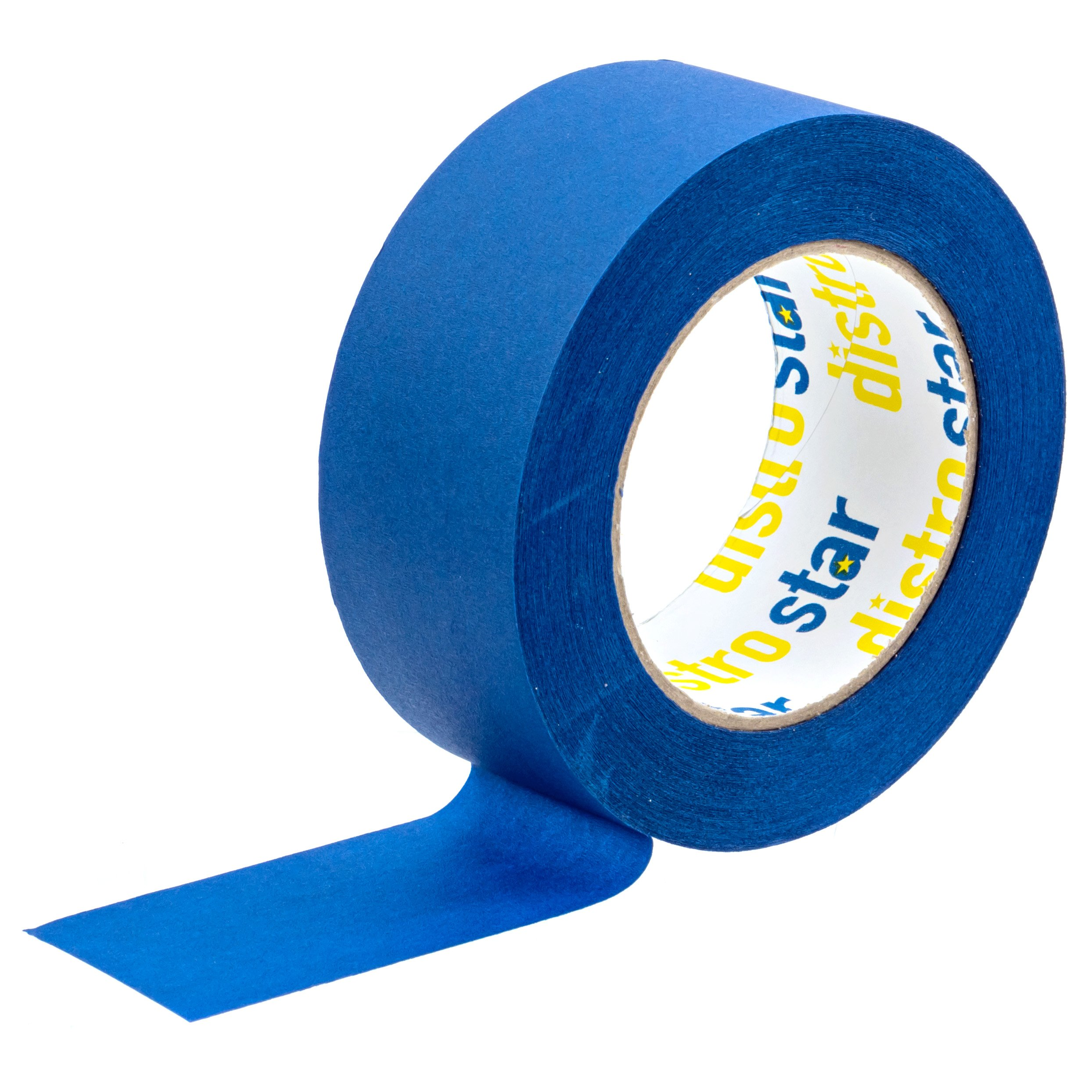 Painter's Tape Blue 2 inch (1.88 in x 60 yd) 6 Roll Contractor Pack UV Protection 21 Day Easy Peel Perfect Lines Humidity Resistant Paint Like A PRO Professional Painter Premium Quality Masking Value by Distro Star (Image #3)