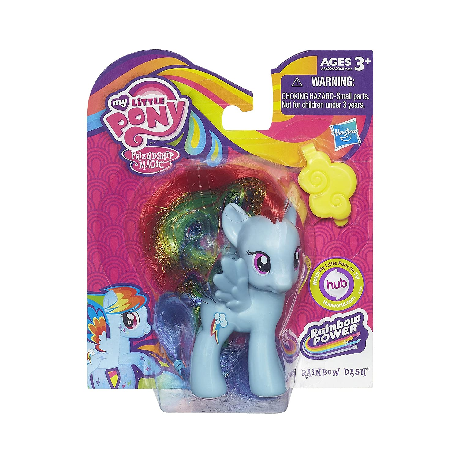 Amazon My Little Pony Rainbow Power Rainbow Dash Figure Doll