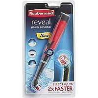Rubbermaid® 1839685 Reveal™ Poderoso Cepillo de cerdas, Cepillo eléctrico, Gris, 1
