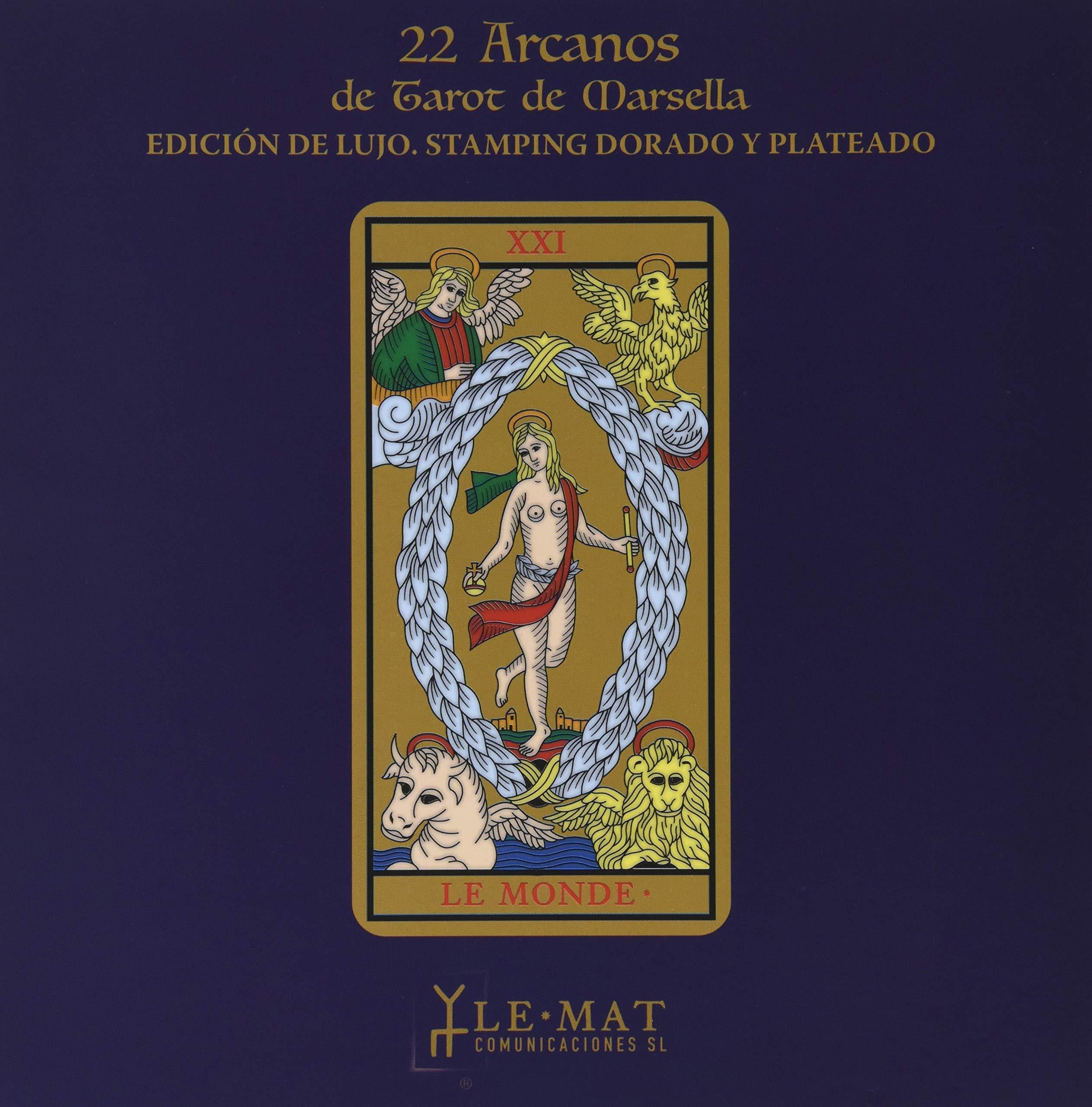 22 arcanos de tarot de Marsella: Amazon.es: Vv.Aa: Libros
