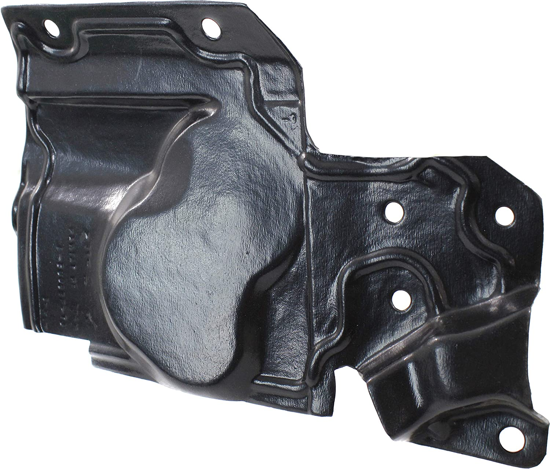 Driver Side Hybrid Model 17-17 Engine Splash Shield Compatible with 2014-2018 Nissan Rogue Under Cover,