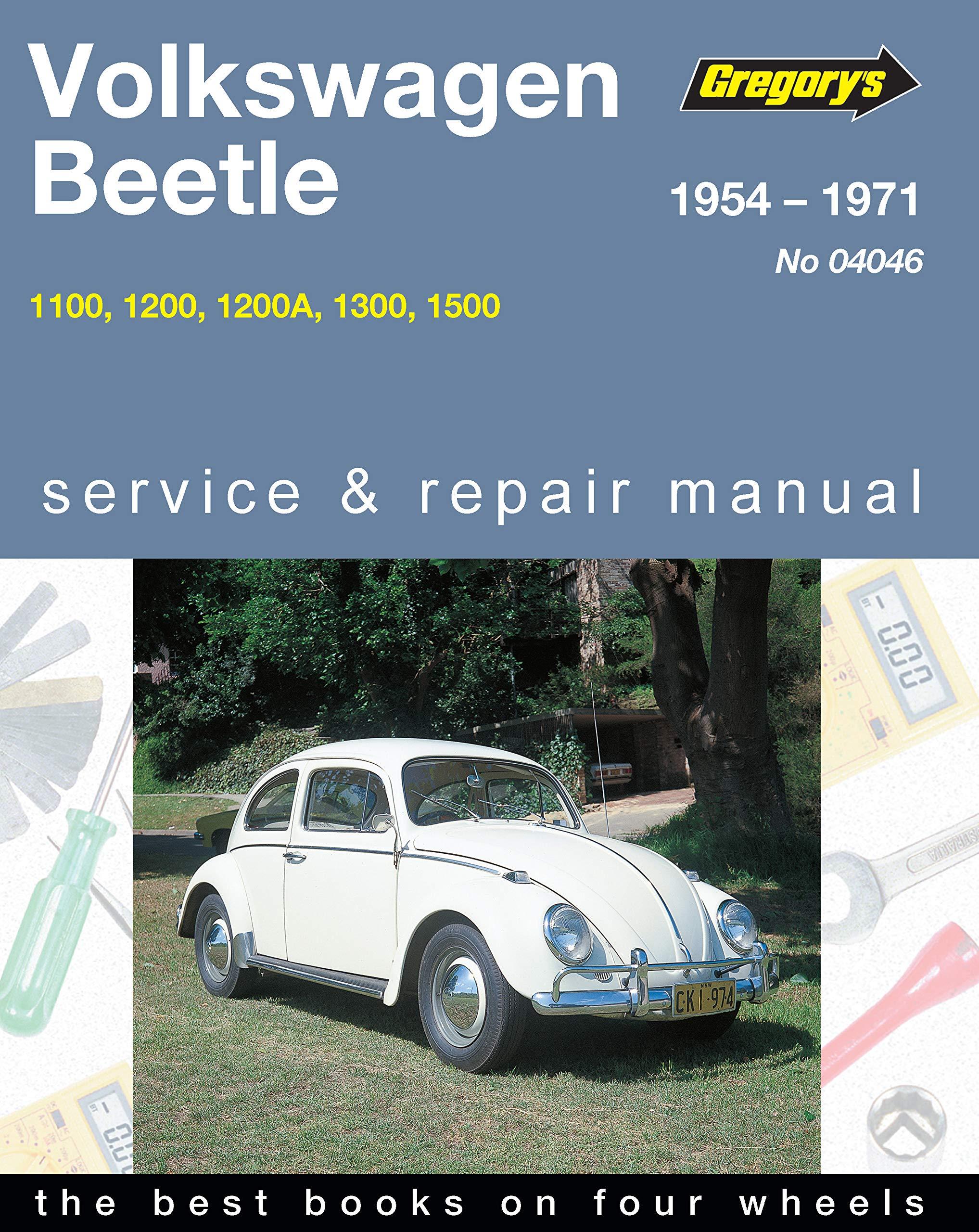 Buy Volkswagen Beetle Type I 1200, 1300, 1500 1962-70 Workshop Manual Book  Online at Low Prices in India   Volkswagen Beetle Type I 1200, 1300, 1500  1962-70 ...