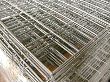 Welded wire mesh panel 6ft x 3ft 12 gauge 25mm wire 2x2 holes welded wire mesh panel 6ft x 3ft 12 gauge 25mm wire 2x2quot greentooth Images