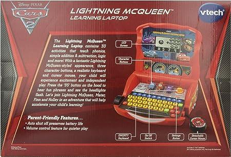 VTech Disney Cars 2 Lightning McQueen English learning laptop parallel import goods (japan import)