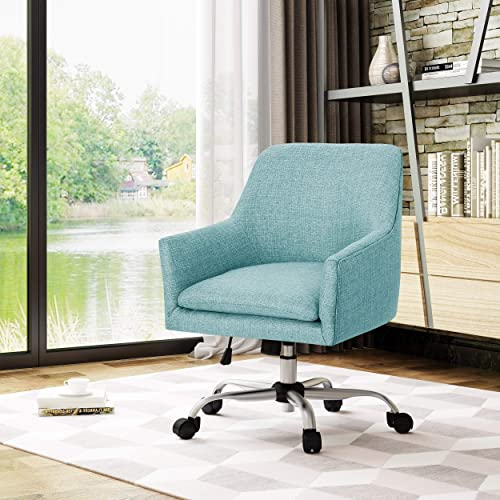 Christopher Knight Home Johnson Mid Century Modern Fabric Home Office Chair
