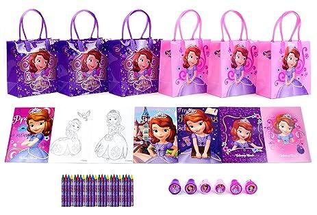 Amazon.com: Sofia the First Party Favor Set - 6 Packs (42 Pcs): Toys ...