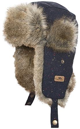 95278b2a Trespass Boys & Girls Zazu Polyester Faux Fur Adjustable Trapper Hat ...