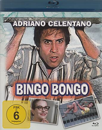 Amazon Com Bingo Bongo Adriano Celentano Collection Blu Ray