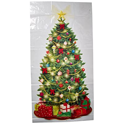 Amscan 670228 Classic Christmas Tree Scene Setters Add-Ons Accessory | Plastic: Toys & Games