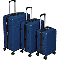 AmazonBasics Hardside Spinner Luggage - Multi-Piece Set