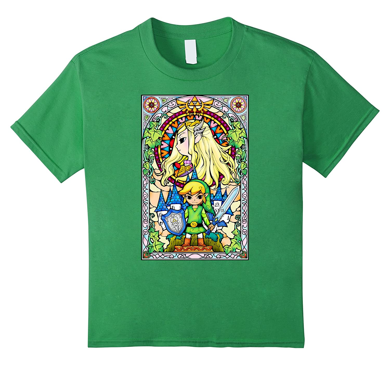 Nintendo Zelda Princess Stained T Shirt-Teechatpro