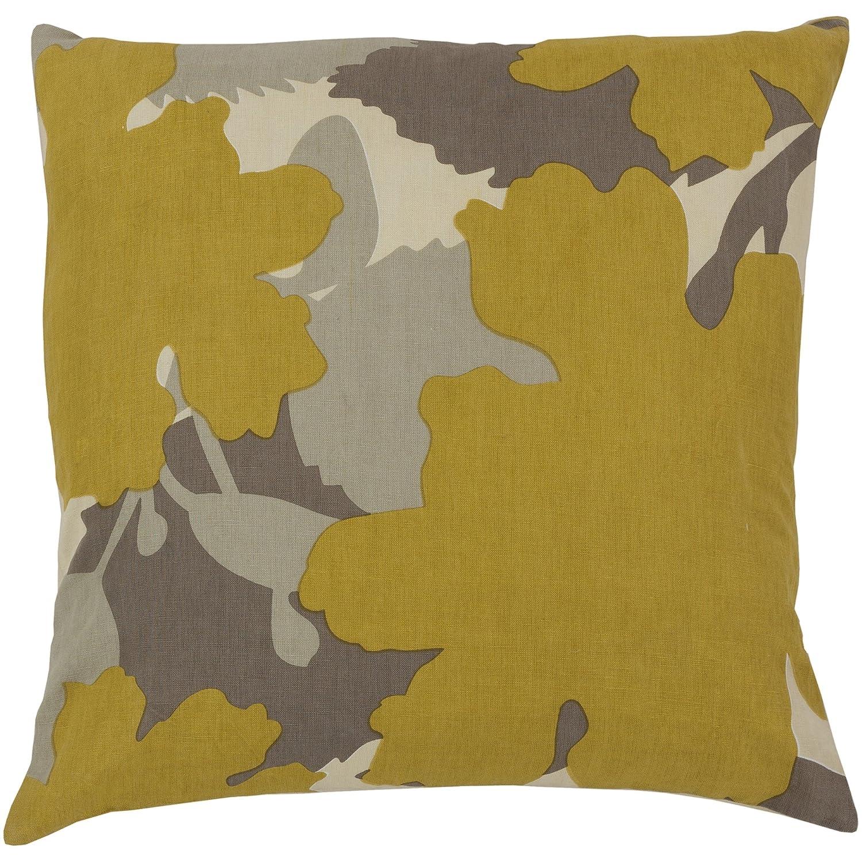 Surya Jef Designs jd025 – 1818p合成塗りつぶし枕、18 by 18インチ、ベージュ   B00H2KBZ5K