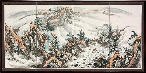 Oriental Furniture 36 Mountaintop Landscape