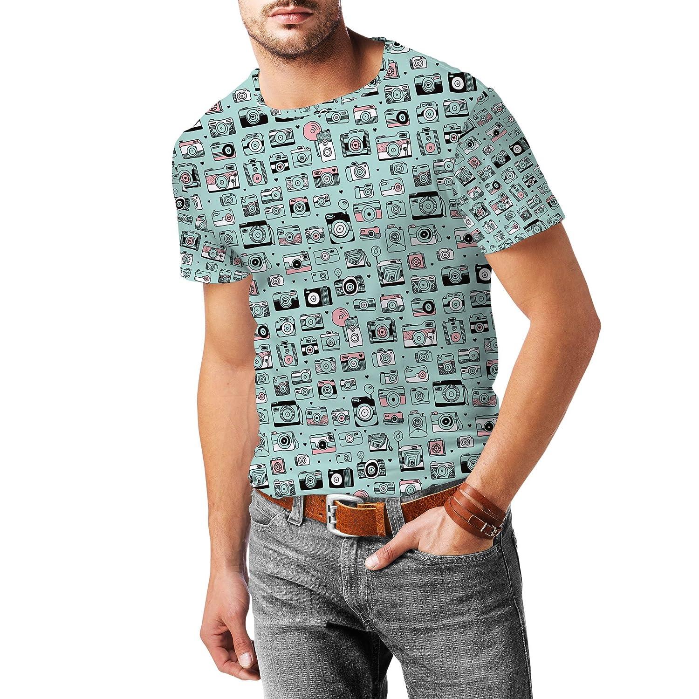 Camera Obsession Mens Sport Mesh T-Shirt
