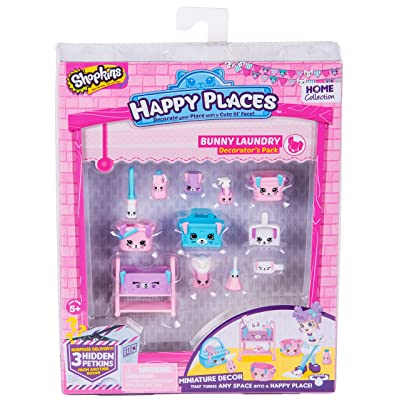 Shopkins Happy Places Season 2 Decorator Pack Bunny Laundry: Toys & Games