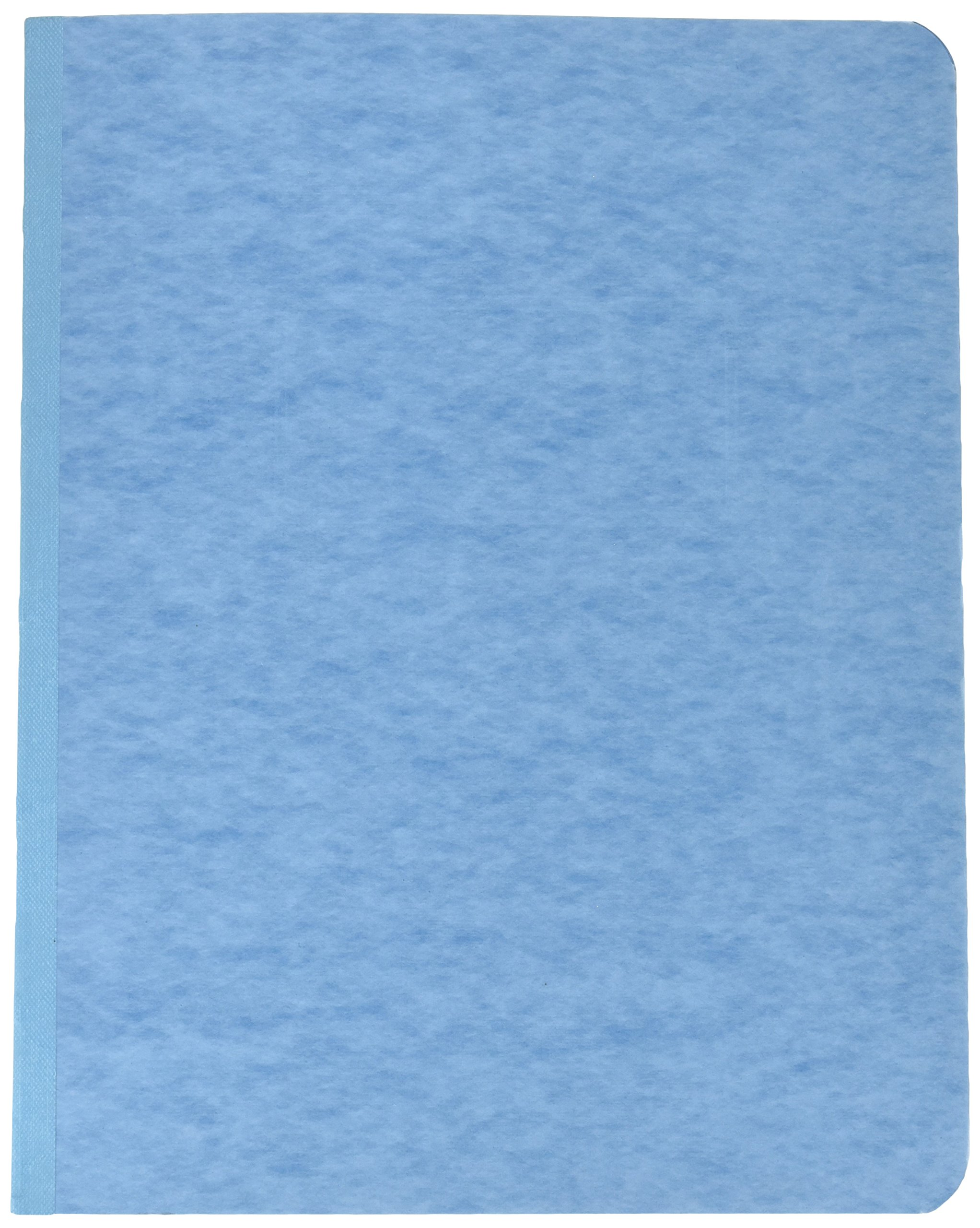 Acco Pressboard Report Cover, Prong Clip, Letter, 3'' Capacity, Light Blue - (Pack of 25)
