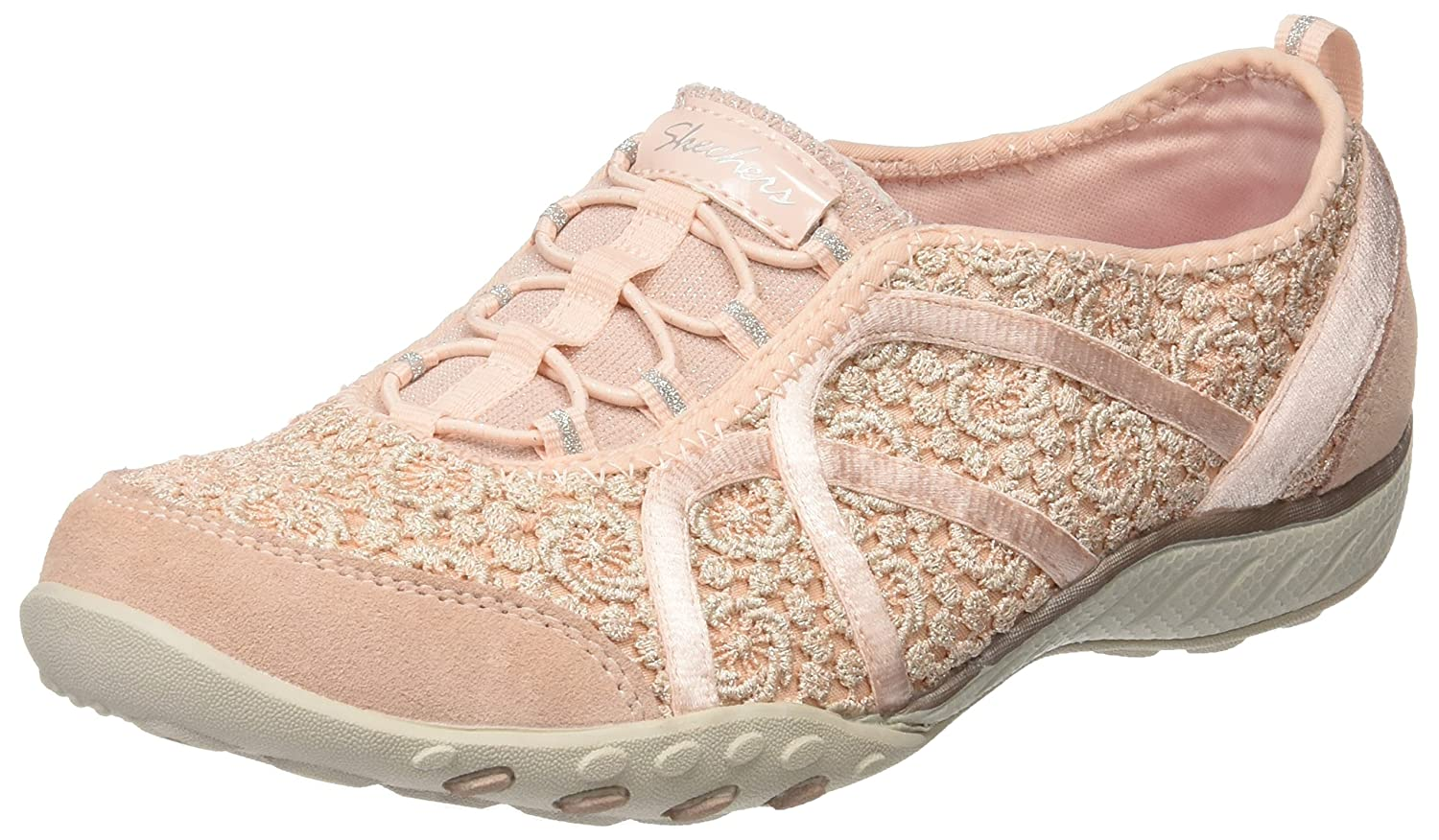Skechers Damen Breathe-Easy-Sweet Darling Sneaker  36 EU|Pink (Pksl)