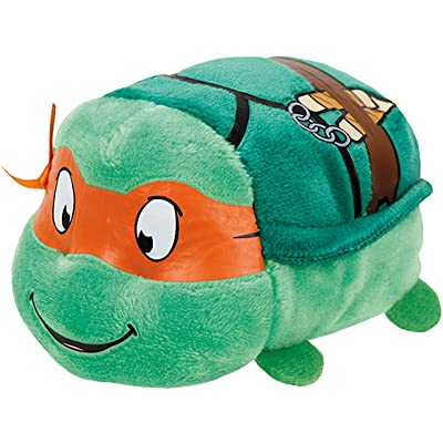 Ty Beanie Boos - Teeny Stackable Plush - TMNT - MICHELANGELO: Toys & Games