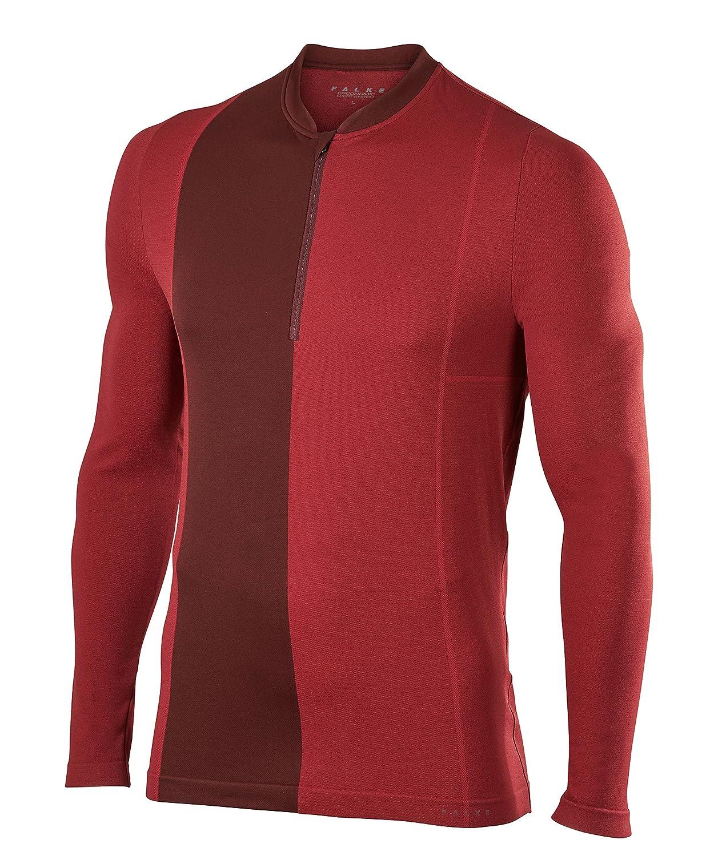 FALKE Herren Halpzip Longsleeved Shirt Sportbekleidung