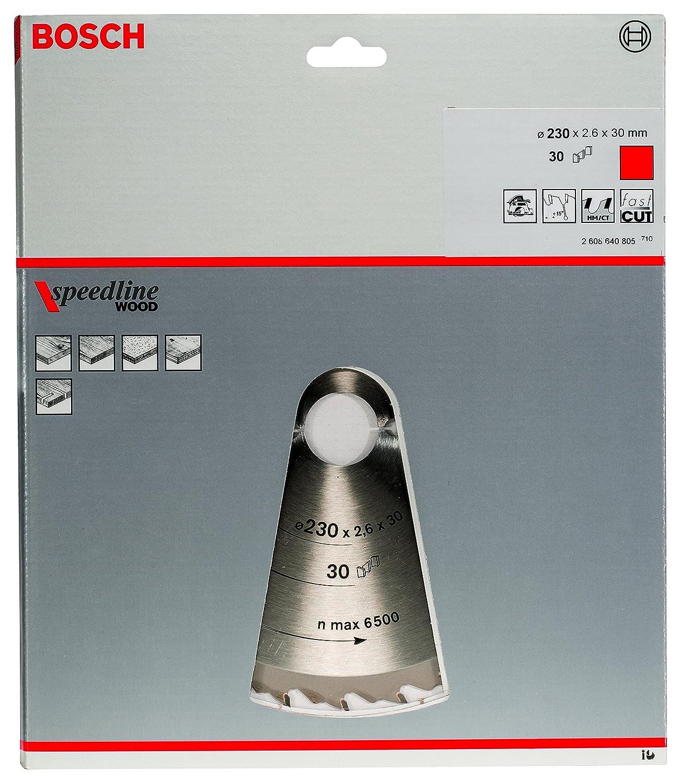 18 Bosch Kreissägeblatt Speedline Wood 230 x 30 x 2,4 mm