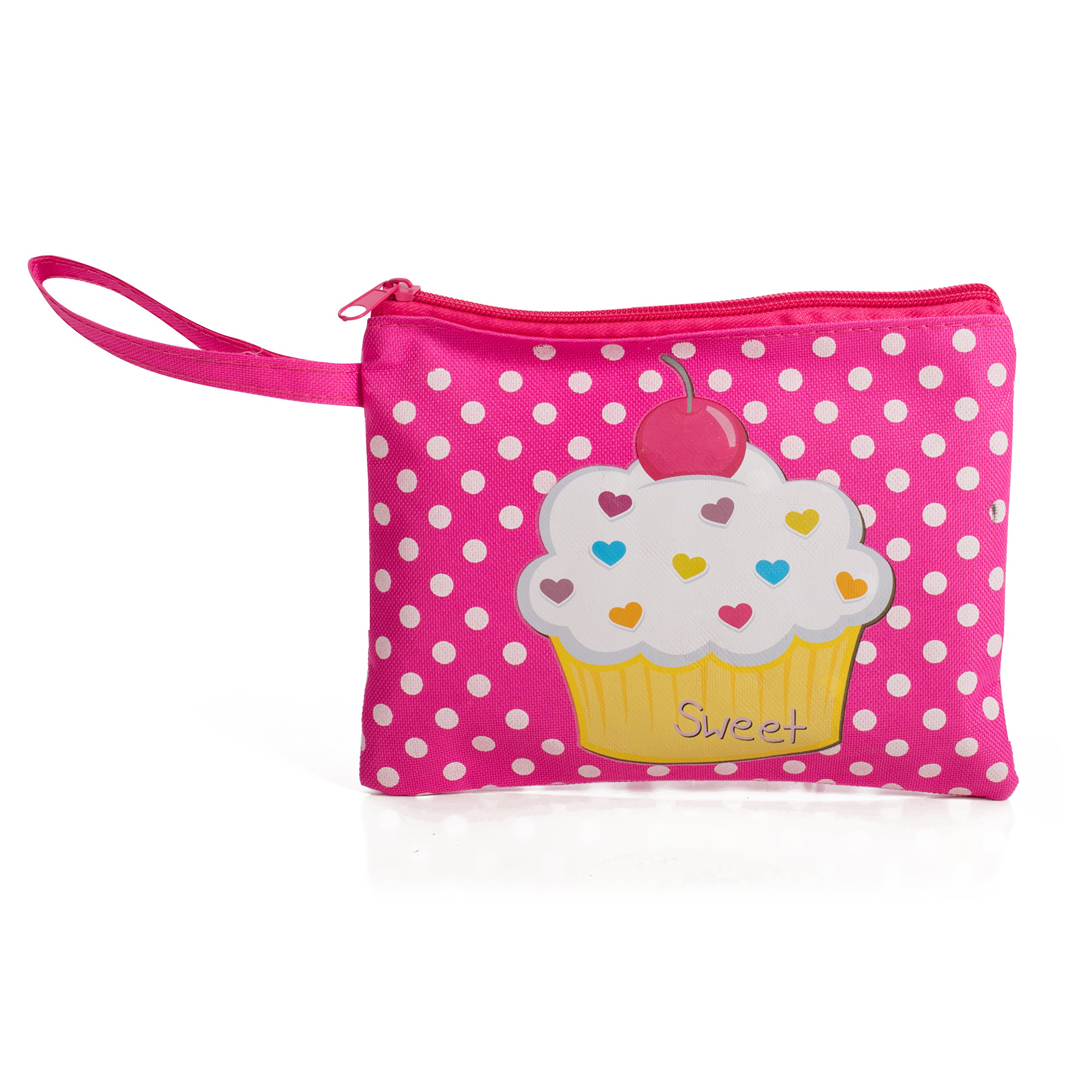 Beverly Hills Kids Pretend Play Makeup Cosmetic Kit With Bright Polka Dotted Cosmetic Bag by Beverly Hills (Image #2)
