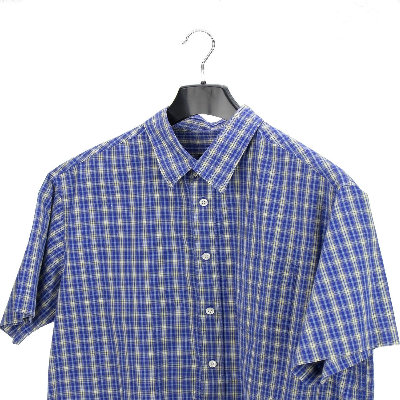Hangerworld 10 Perchas 49cm Pl/ástico Curvado para Mantener la Forma de Chaquetas Camisas y Blusas