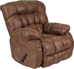 Flash Furniture Contemporary Breathable Comfort Padre Almond Fabric Rocker Recliner